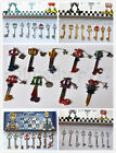 Kingdom Hearts Sora Roxas Axel Key Blade Keychains blade KeyPendant Set of 8pcs