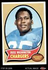 1970 Topps #206 Russ Washington Chargers VG/EX $1.55 USD