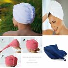 100% Cotton Turbie Twist Hair Wrap Drying Towel Turban Soft Bath Multi Purpose