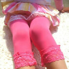 green tights for girls - Toddler Kids Girls Pants Velvet Tights Trouser 3/4 Pantyhose Stocking Candy 5-9T