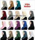 Hijab One Piece Cotton Slip On Hijabs READY JERSEY Muslim woman Scarf