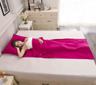 Cotton Bed Sheet Outdoor Travel Trip Hotel Camping Hiking Healthy Sleeping Bag