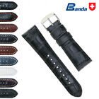 Banda Premium Grade Calfskin Alligator Grain Leather Watch Band (18mm-30mm) image