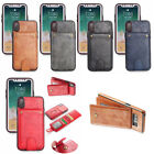 Luxury New Fashion Leather Slim Wallet Case Cover For iPhone 6s 7 8 Samsung s8