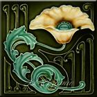 Art Nouveau Reproduction Decorative Ceramic tile 365