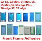 50x Original Front LCD Frame Sticker Glue for Samsung S3 S4 S5 S6 S7 edge Plus