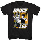 Bruce Lee Chinese Lettering Adult T Shirt Martial Arts