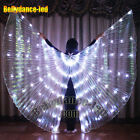 free ship USA! LED isis wings belly dance light up show cosplay prop sticks