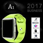 A1 Smart Watch Bluetooth GSM SIM Phone Camera TF Slot For Android*Samsung*iOS-US