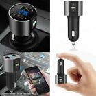 Car Wireless Bluetooth FM Transmitter Radio Adapter USB Charger for Cell Phone