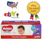 Huggies Little Movers Baby Diapers Size 3, 4, 5 & 6 Fast Free Shipping
