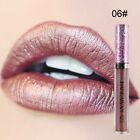 6Colors Women Makeup Beauty Shimmer Glitter Waterproof Liquid Lipstick Lip Gloss