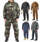 Cold Weather Insulated Coveralls, Uniform Work Duty Military Insulated Jumpsuit
