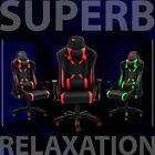 NEW Executive Gaming and Office Chair Racing Computer, Bigger, Wider & Stronger