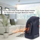 Heater Plug-In THE WALL OUTLET SPACE HEATER 350 WATTS (NEW)- As Seen on TV OY