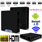 Quad Core 1080P Bluetooth 4.0 + WiFi 32G Mini PC Computer For for Win10 Android
