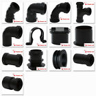 Polypipe 40mm Push Fit Waste Pipe Fittings in Black
