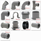 Polypipe 40mm Push Fit Waste Pipe Fittings in Grey