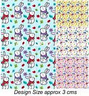 100% Cotton Poplin Fabric - Easter Bunny Rabbit Fabric - 4005