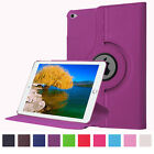 Luxury PU Leather Smart Cover 360 Ratating Holder Case For iPad Air 2