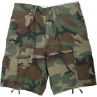 Vintage Military Cargo Fatigue Shorts M-65 Field Army Ripstop M65 Tactical