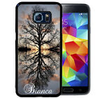 PERSONALIZED RUBBER CASE FOR SAMSUNG S8 S7 S6 S5 EDGE PLUS TREE OF LIFE