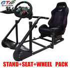 GT ART Racing Simulator Steering Wheel Stand+Logitech G29/G920 Steering Wheel PS