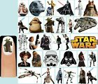 60x STAR WARS Nail Art Decals + Free Gems Darth Vader Yoda Death Star C3PO R2D2 $7.15 CAD on eBay