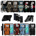 For Samsung Galaxy S7 G930 Protective Dual Layer Clip Case Stand - Tough Designs