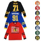 "NHL ""Shootout"" Mass Hockey Long Sleeve Player Jersey T-Shirt Collection Men's $8.99 USD on eBay"