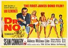 DR. NO JAMES BOND 007 SEAN CONNERY VINTAGE CLASSIC MOVIE POSTER £34.99 GBP on eBay