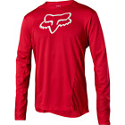 Fox Racing 2018 Demo Long Sleeve L/S Camo Burn Jersey Bright Red