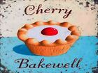 RETRO METAL PLAQUE :Cherry Bakewell sign/ad