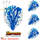 Harrows - Rapide Light Blue Std Flights - 100 microns