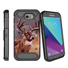 For Samsung Galaxy J3 Emerge | Luna Pro (2017) Clip Case with Kickstand - Camos