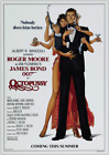 OCTOPUSSY JAMES BOND 007 ROGER MOORE VINTAGE CLASSIC MOVIE   POSTER £29.99 GBP on eBay