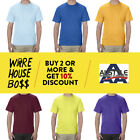 AAA ALSTYLE 1301 MENS PLAIN T SHIRT CASUAL SHORT SLEEVE SHIRTS COTTON TEE S-5XL image