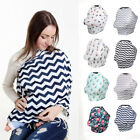 Внешний вид - Safety Stretchy Newborn Infant Nursing Cover Baby Car Seat Canopy Cart Cover R