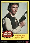 1977 Topps Star Wars #144 Harrison Ford as Han Solo VG/EX $2.35 USD