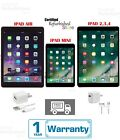 New - Apple iPad 2,3,4 Mini Air 16GB,32GB,64GB,128GB WiFi+Verizon/AT&T/Sprint