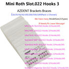 AZDENT! Dental Orthodontic Metal Brackets Brace Mini Roth Slot.022 Hooks 3 SALE