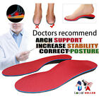 orthotics feet - Orthotic Shoe Insoles Flat Feet Foot High Arch Gel Heel Support Inserts Pads SFC
