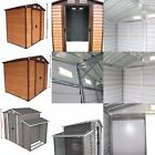 6'/8'x5' Outdoor Backyard Storage Shed Utility Tool Lawn Building Door With Roof