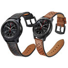 For Samsung Gear S3 Frontier / Classic Watch Genuine Leather Wrist Band Strap image