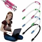 Flexible Adjustable 4 LED Study Reading Hug light Neck Book Night Lamp Torch HOT