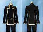 Code Geass Lelouch Cosplay Academy Uniform Cos:lG