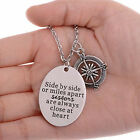 HK- Women Fashion Sisters Necklace Key Chain Jewelry Cocktail Travel Gift Cheap