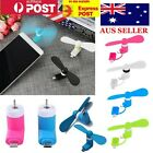 Mobile phone USB mini fan for iPhone and android with multi plug
