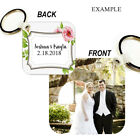 CUSTOM IMAGE Key Chain Ring YOUR PHOTO, DESIGN, LOGO TEXT VERY NICE GIFT BAG TAG