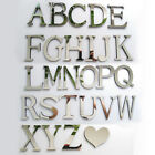 3d Mirror Wall Sticker 26 Letters Diy Art Mural Home Room Decor Acrylic Decals--